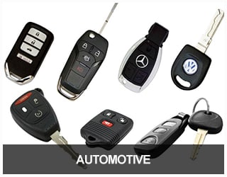 Automotive Service - image of car keys and fobs